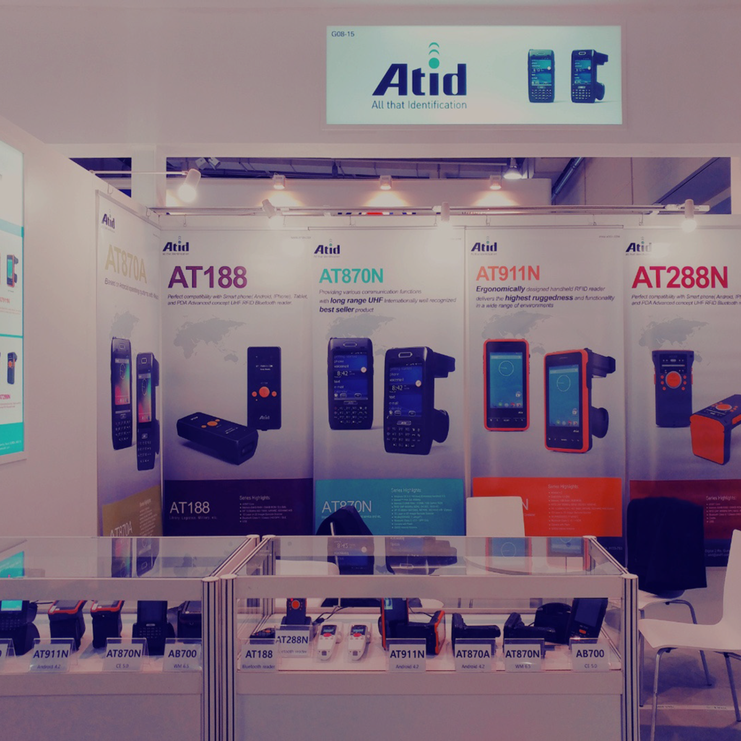 """Participated in """"CeBIT 2017 Germany"""" exhibition in Hannover, Germany"""